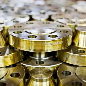 Flanges on stock